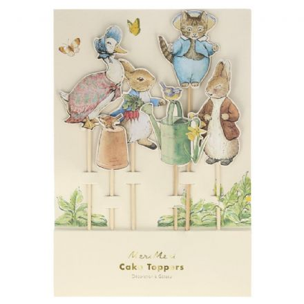 Peter Rabbit & Friends Large Cake Toppers
